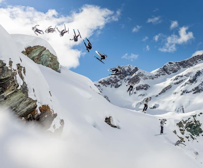 Markus Eder air force checking mythical Alagna from above