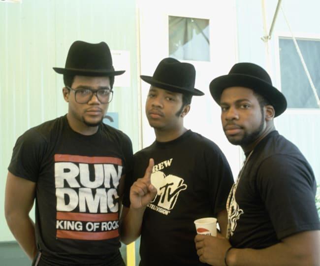 The always fashion-forward Run-DMC