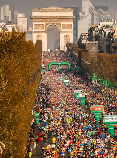 Le Marathon de Paris 2018
