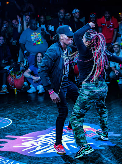 Kidd dances during Red Bull Dance Your Style in Miami, FL on July 27, 2019.