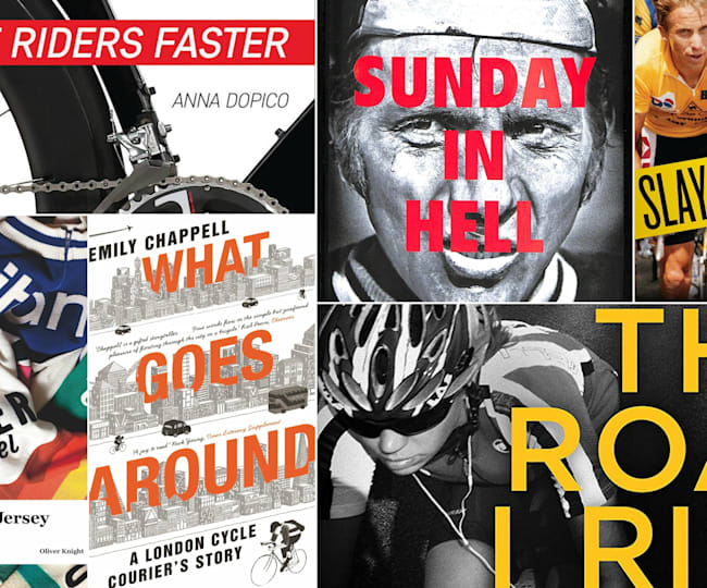 8 amazing cycling books