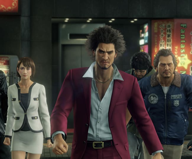 Yakuza: Like a Dragon's eccentric cast