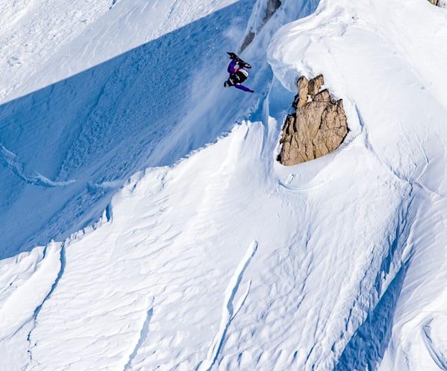 Mark McMorris in action in Alaska