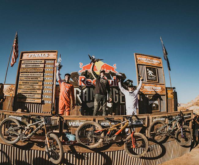 Trek bikes are on podiums of riders like Brandon Semenuk & Brett Rheeder.