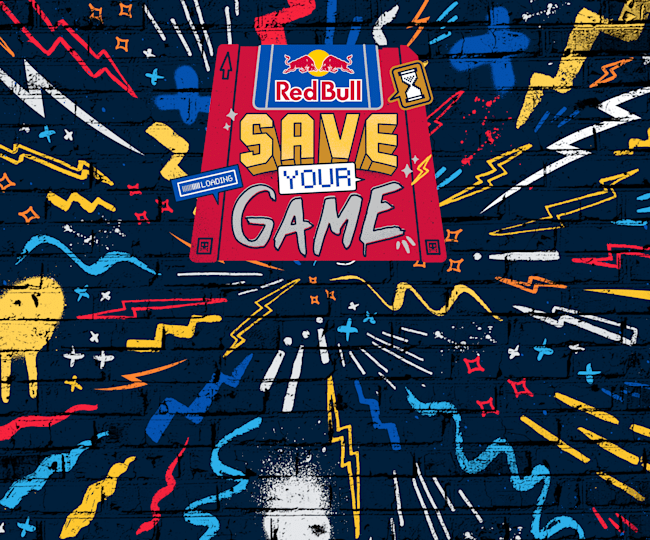 Red Bull Save Your Game