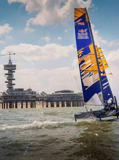 Red Bull Foiling Generation in Den Haag