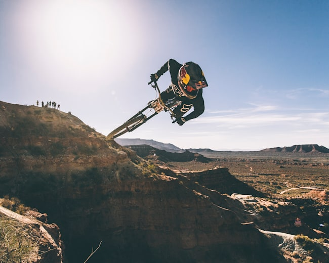 Andreu Lacondeguy rips at Red Bull Rampage