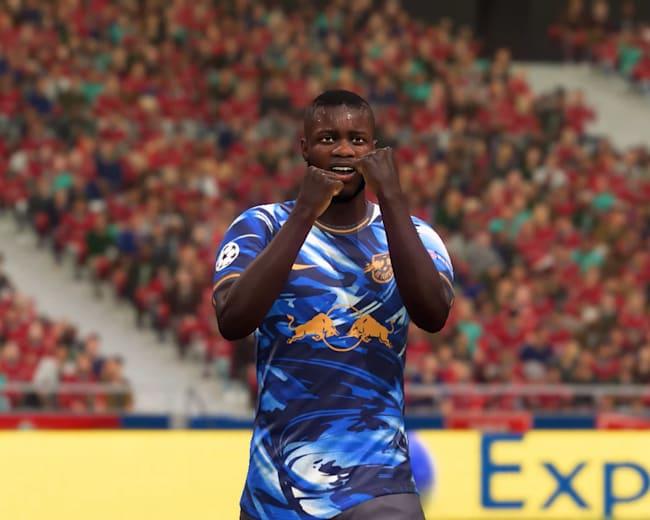 Dayot Upamecano sichert sich eine der besten Headliners-Karten in FIFA 21