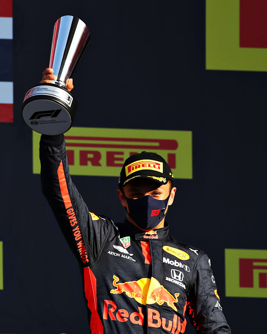 Alex Albon Takes First F1 Podium In Mugello