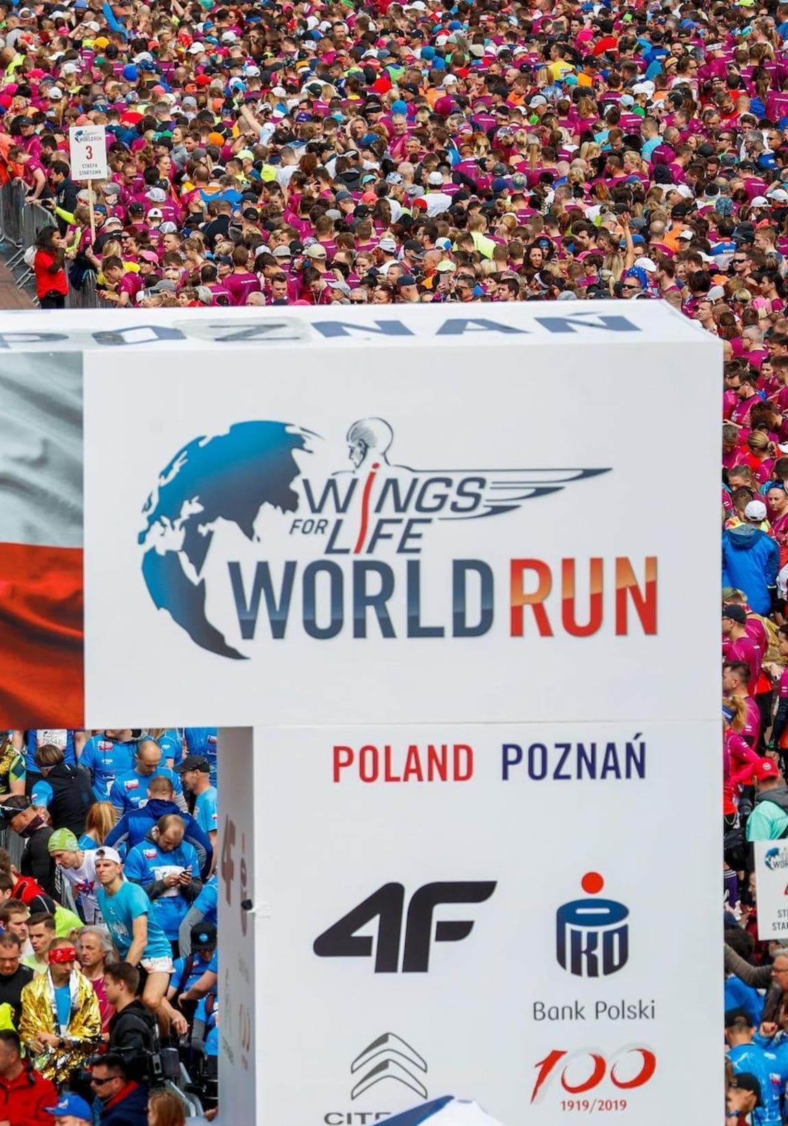 Wings for Life World Run 2019 relacja zwycięzcy