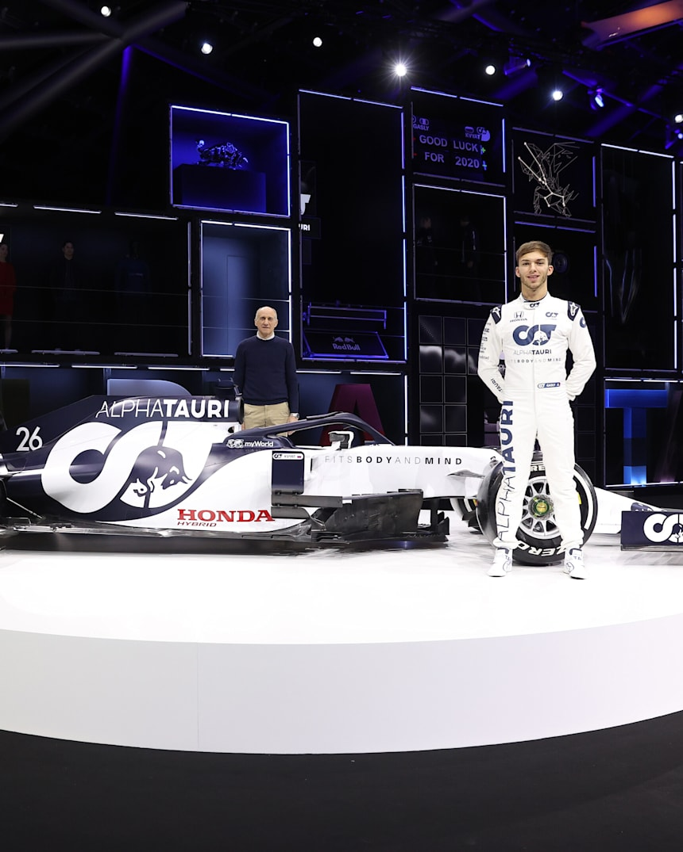 Scuderia Alphatauri F1 Team And New Car Unveiled News