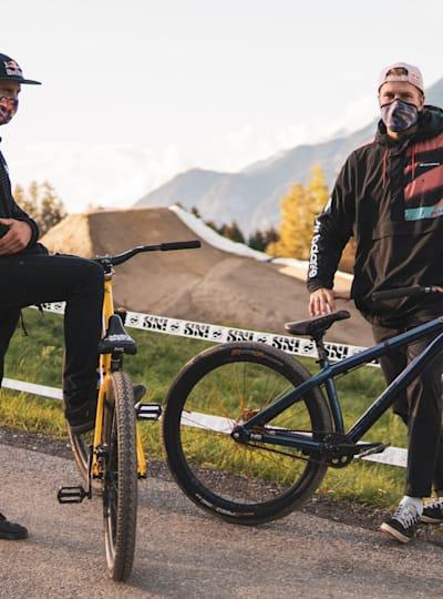 Dawid i Szymon Godziek na zawodach Crankworx Innsbruck