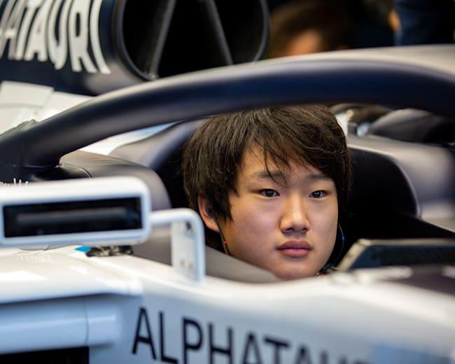 Yuki Tsunoda steigt in die F1 auf