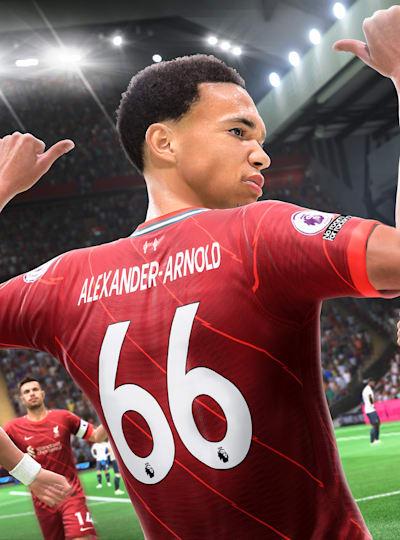 Trent Alexander-Arnold es imprescindible en el Modo Carrera de FIFA 22