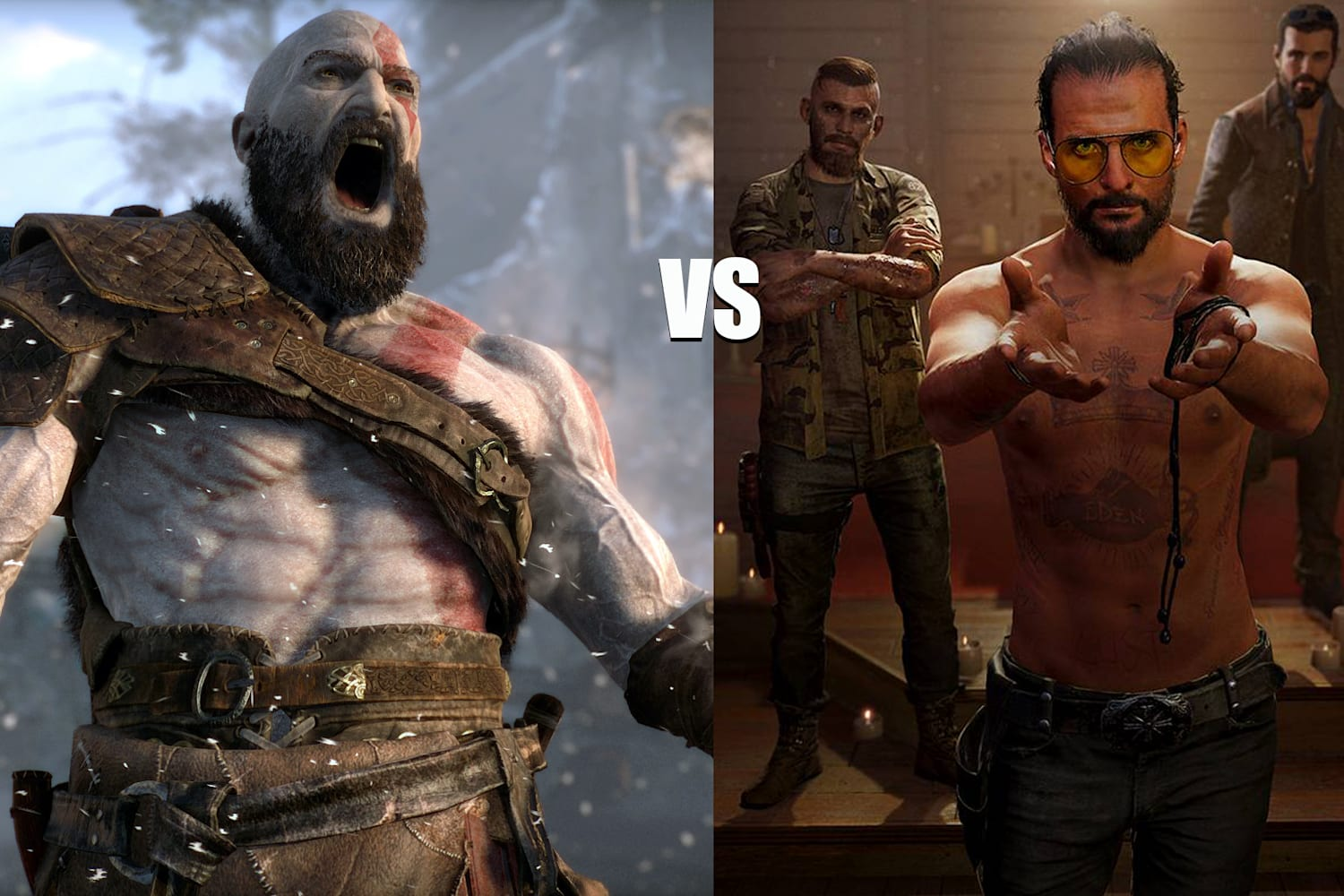 Far Cry 5 Vs God Of War Which Game Is The Best
