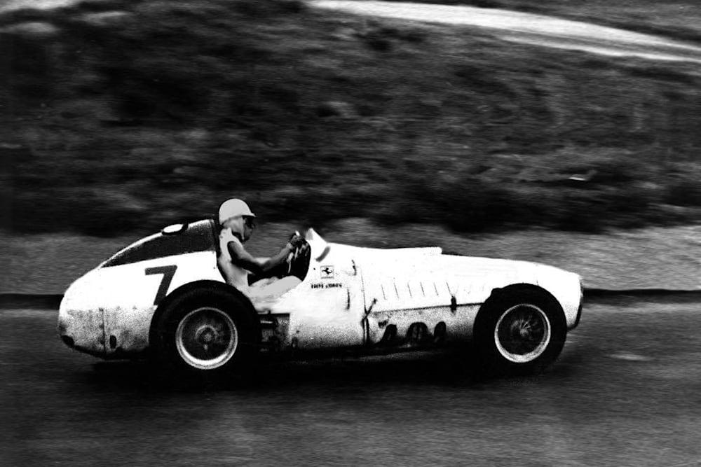 Fritz acelerando a Ferrari em 1960