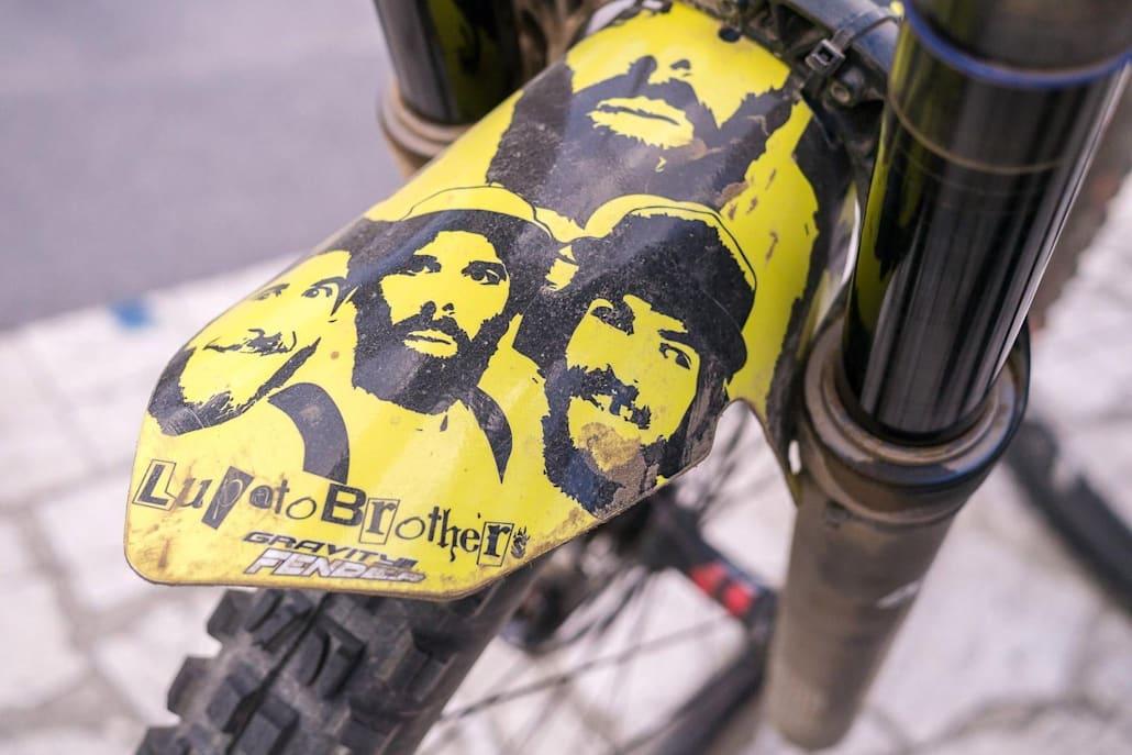 """Il parafango della """"family"""" Lupato Brothers"""
