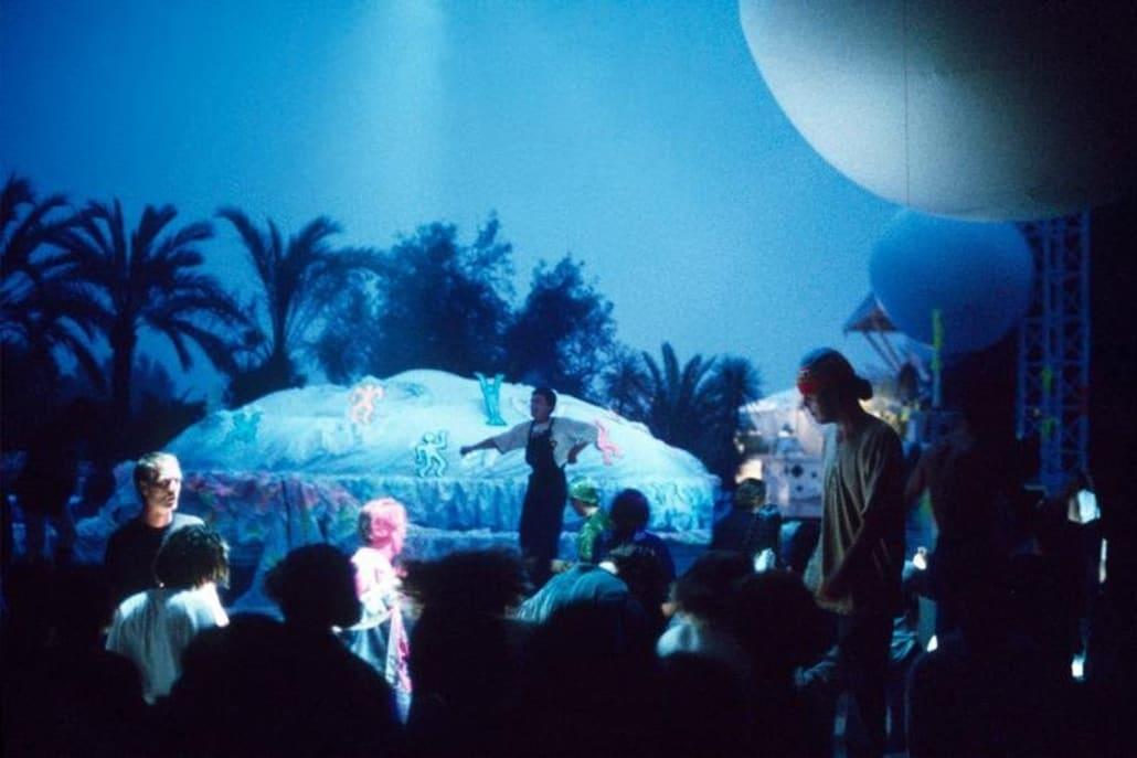Dancers at Ku, Ibiza