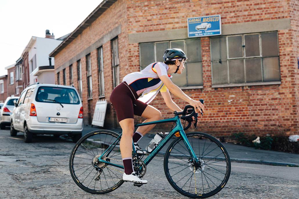 Culote corto con tirantes I-ris.cc Signature II mejores culottes de ciclismo para mujeres