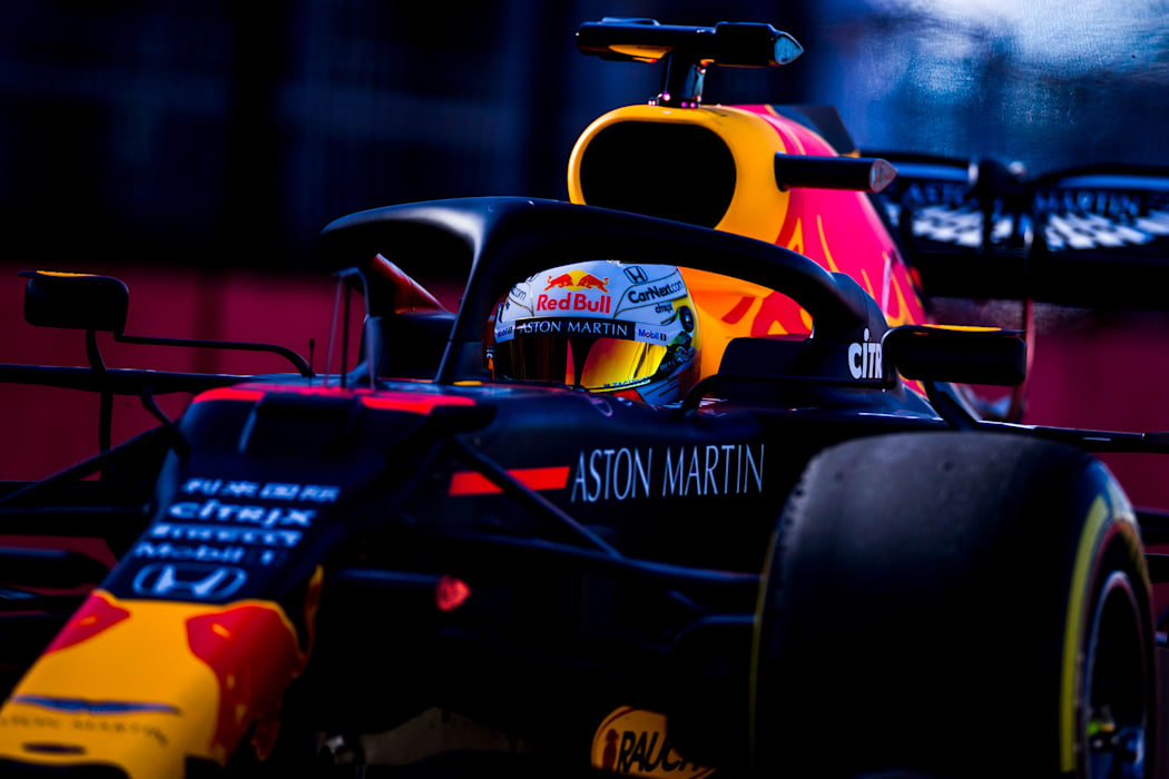 Up Close With Max In The RB16