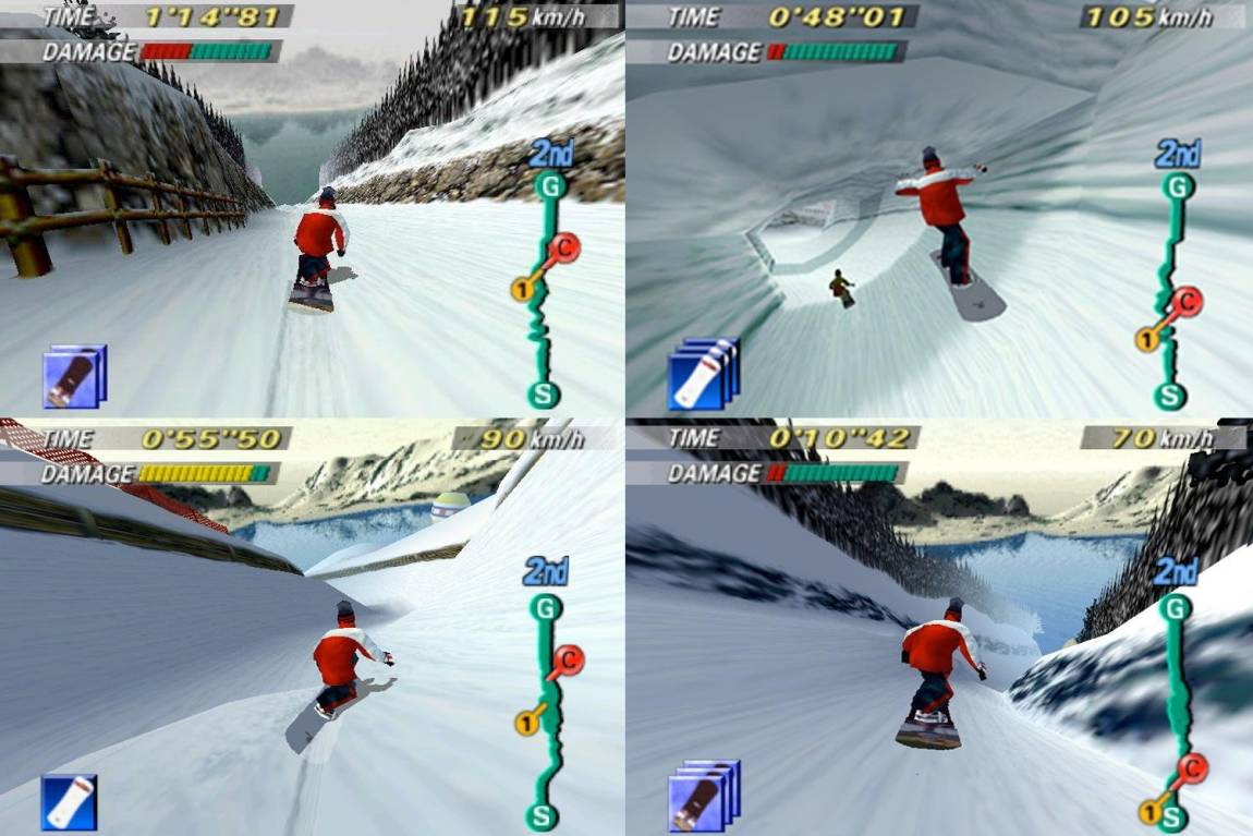 1080 Snowboard n64, multiplayer