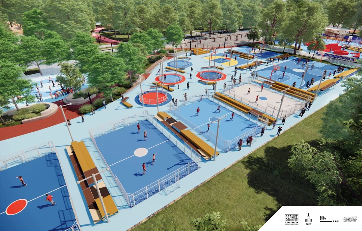 Візуалізація майбутнього парку