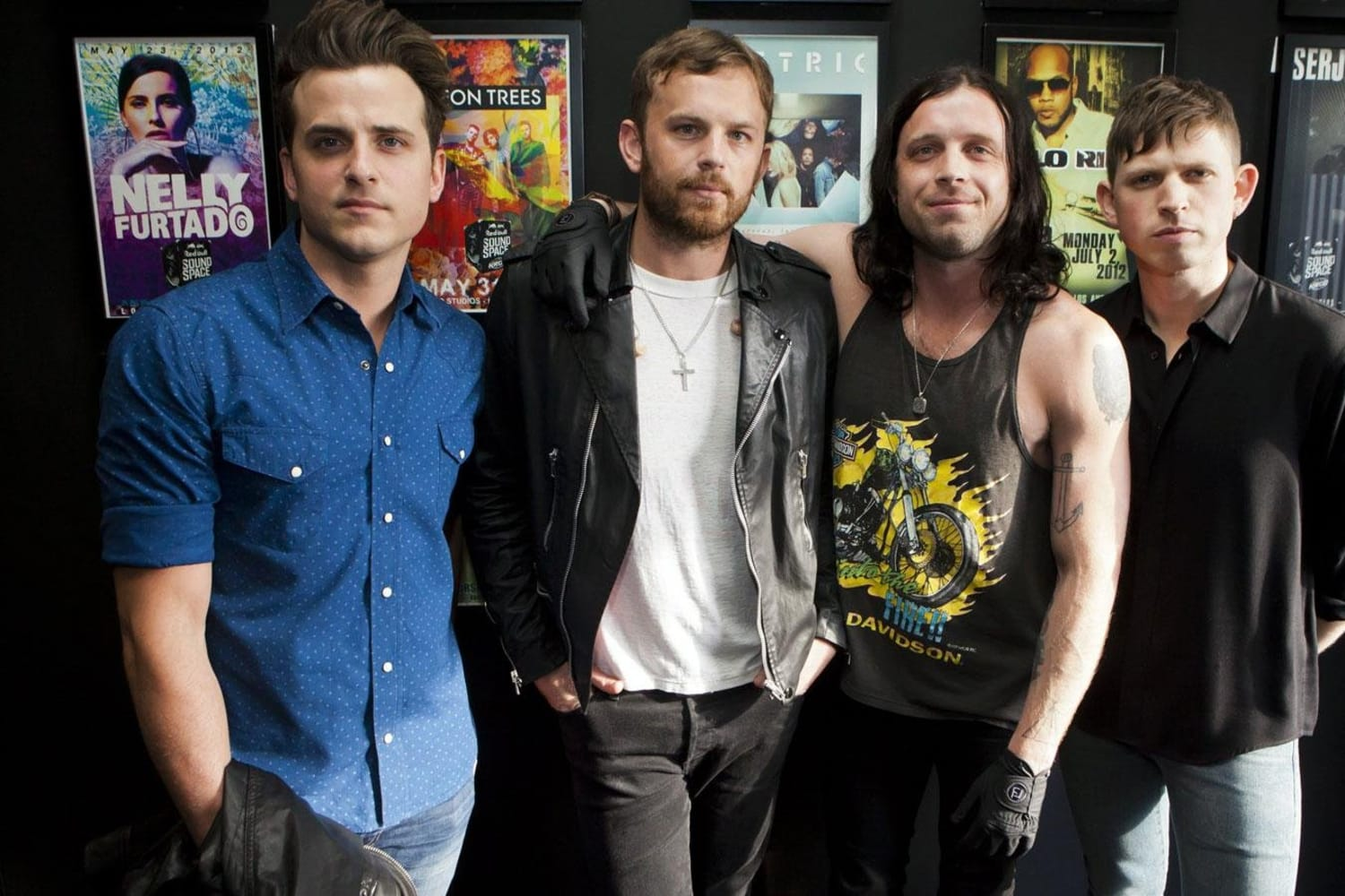 Watch Kings Of Leon play the Red Bull Sound Space