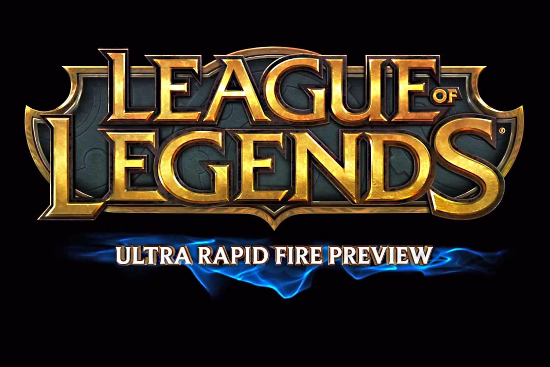 ultra rapid fire lol game
