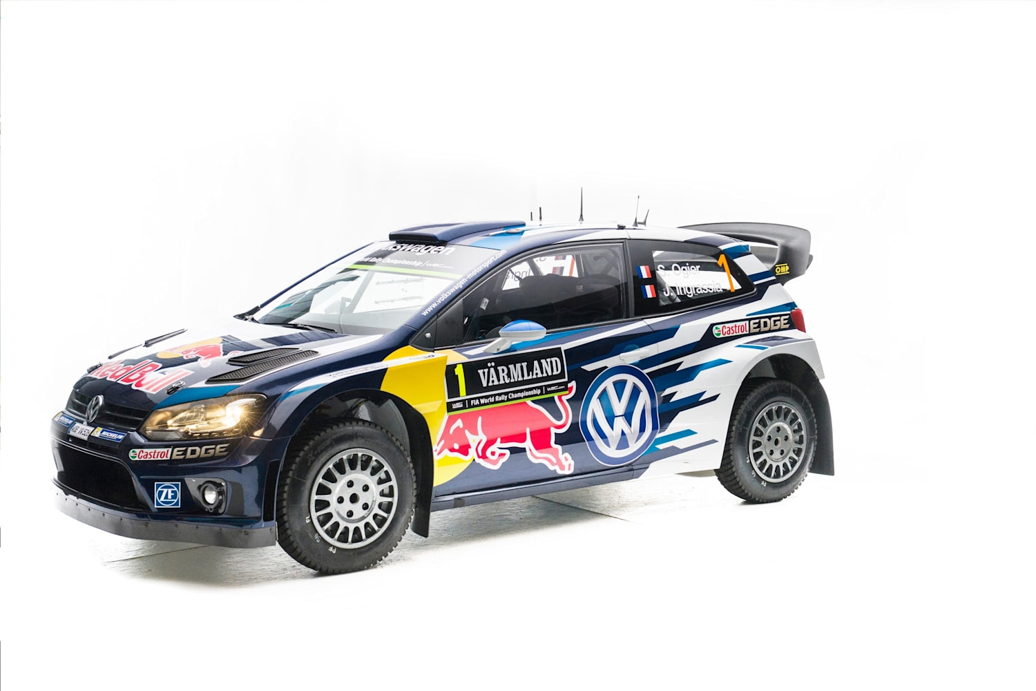 360 Degree View Of The Volkswagen Polo R Wrc