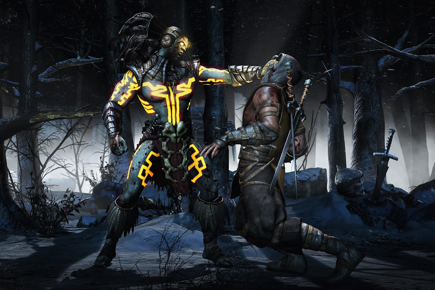 mortal kombat xl ps4 combos
