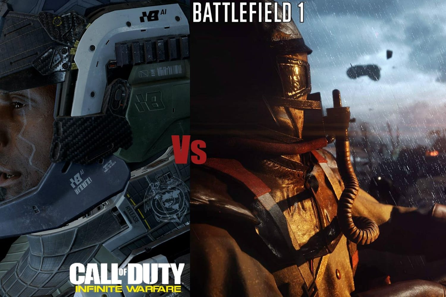 Battlefield 1 Vs Call Of Duty Which Game Is Better