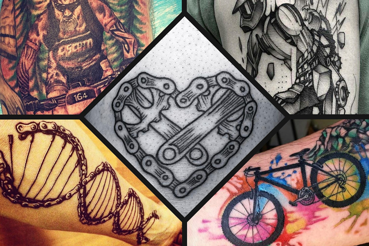 Mountain Biking Tattoos 14 Of The Coolest Designs