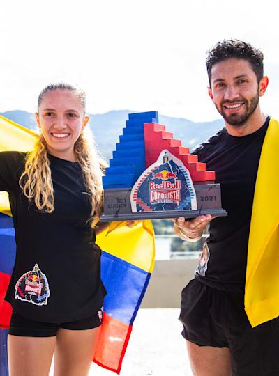 Ganadores de Red Bull Conquista del Peñol