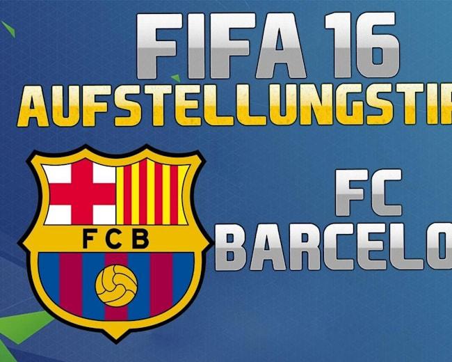 PLAY FIFA - So spielen Profis mit Barca