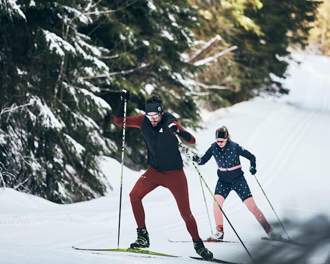 Schneesicheres Langlaufen am Tegernsee