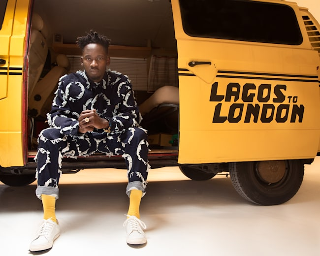 Mr Eazi is forming a bridge between London and Lagos