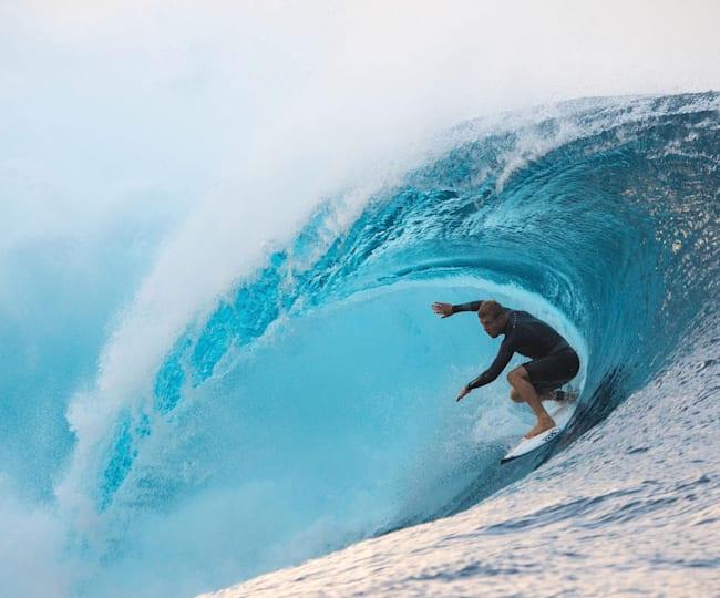 Sobrevoando o Tahiti