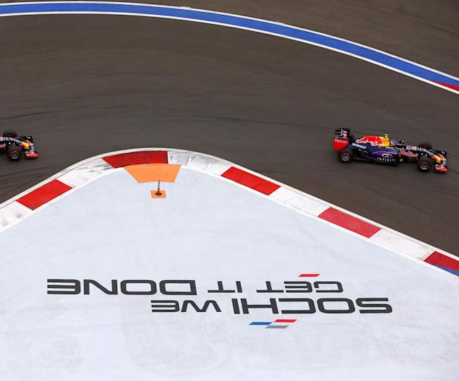 El Gran Premio de Rusia llegó a Sochi