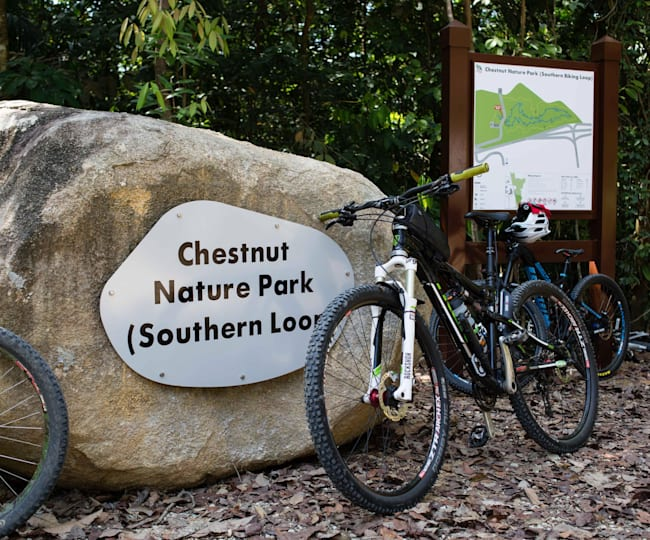The new Chestnut South trail is a 1.8km loop.