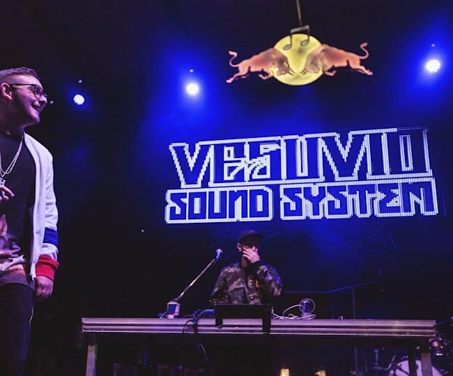Vesuvio SoundSystem di Red Bull Music Academy