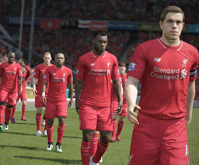 Liverpool in FIFA 16