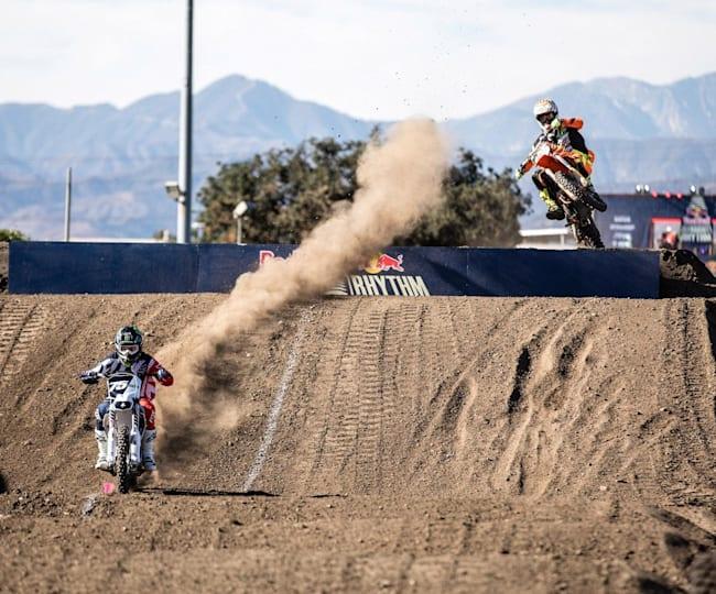 Josh Hill rips the Alta electric bike