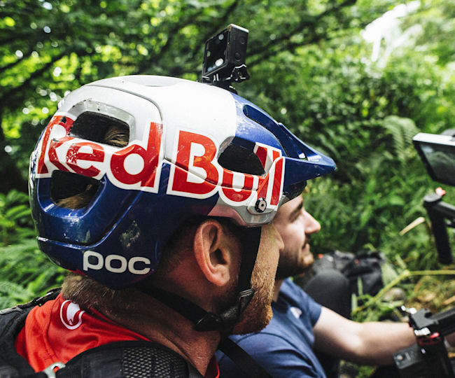 Danny MacAskill filming Wee Day Out