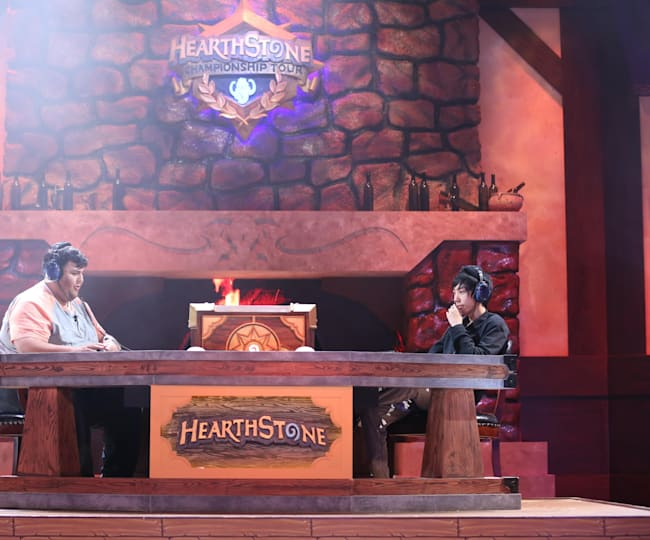 Ant is a dab hand at Hearthstone