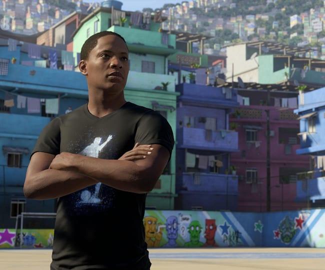 Alex Hunter dans FIFA 18