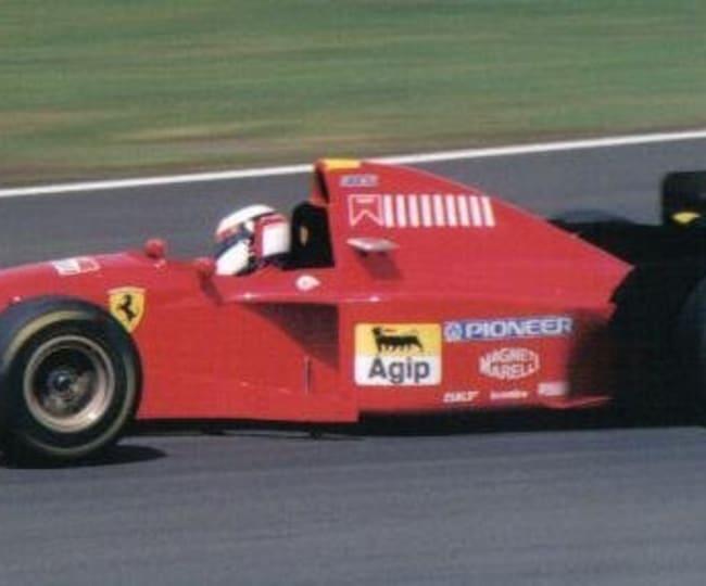 Jean Alesi au Grand Prix du Canada en 1995