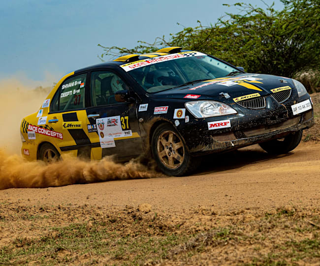 They drove 116 kms across special stages and 181 kms on the liaison stage