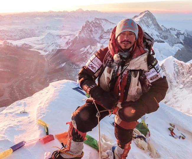 Nims summits Everest in 2019.