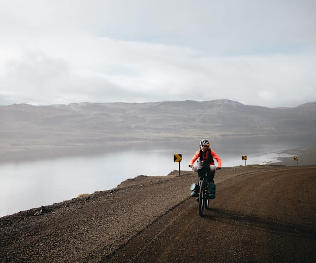 Emily Batty on her cross Iceland expedition