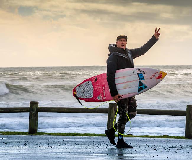 Jamie O'Brien Breaks Down His Winning Waves